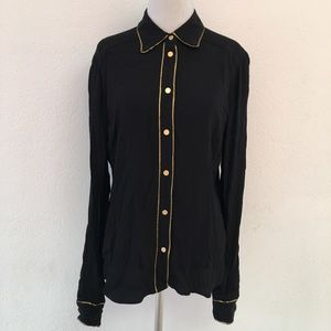 Diane Von Furstenberg Button Downs Shirt Size 10